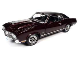 Oldsmobile  - 1970 burgundy - 1:18 - Auto World - AMM1245 - AMM1245 | Toms Modelautos