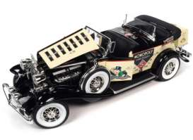 Cadillac  - V16 Sport 1932 cream/black - 1:18 - Auto World - AWSS127 - AWSS127 | Toms Modelautos