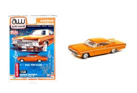 Chevrolet  - Impala SS convertible 1962 orange - 1:64 - Auto World - CP7659 - AWCP7659 | Toms Modelautos