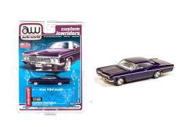 Chevrolet  - Impala SS convertible 1962 blue - 1:64 - Auto World - CP7658 - AWCP7658 | Toms Modelautos