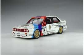 BMW  - M3 E30 white/blue/red - 1:12 - OttOmobile Miniatures - G055 - ottoG055 | Toms Modelautos