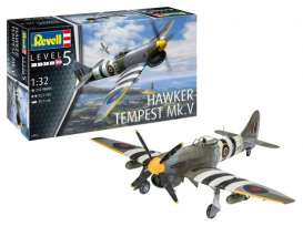 Military Vehicles  - Hawker Tempest V  - 1:32 - Revell - Germany - 03851 - revell03851 | Toms Modelautos