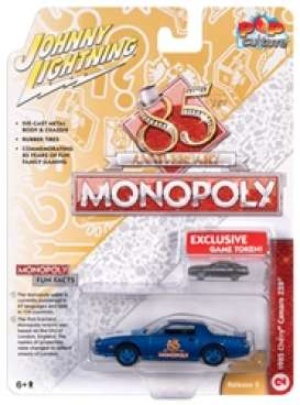 Chevrolet  - 1985 blue - 1:64 - Johnny Lightning - SP123 - JLSP123 | Tom's Modelauto's