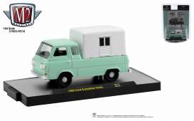 Ford  - Econoline 1965 mint green - 1:64 - M2 Machines - 31500HS16 - M2-31500HS16 | Toms Modelautos