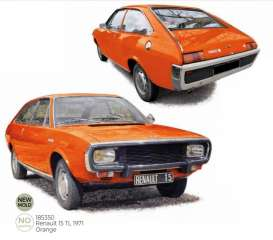 Renault  - 15 TL 1971 orange - 1:18 - Norev - 185350 - nor185350 | Toms Modelautos