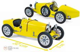 Bugatti  - T35 1925 yellow - 1:12 - Norev - 125702 - nor125702 | Toms Modelautos