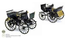 Daimler  - 1886 dark blue - 1:18 - Norev - 183700 - nor183700 | Toms Modelautos