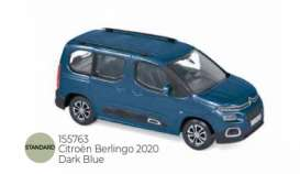 Citroen  - Berlingo 2020 dark blue - 1:43 - Norev - 155763 - nor155763 | Toms Modelautos