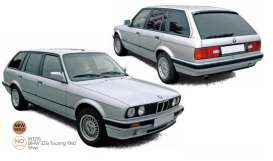 BMW  - 325i Touring 1992 silver - 1:18 - Norev - 183216 - nor183216 | Toms Modelautos