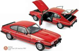 Ford  - Capri 1983 red - 1:18 - Norev - 182708 - nor182708 | Toms Modelautos