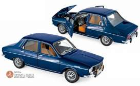 Renault  - 12 1973 dark blue - 1:18 - Norev - 185214 - nor185214 | Toms Modelautos