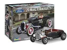 Ford  - Model A 1929  - 1:25 - Revell - US - 4463 - revell4463 | Toms Modelautos