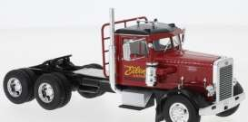 Peterbilt  - 281 1955 red - 1:43 - IXO Models - TR070 - ixTR070 | Toms Modelautos