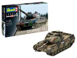 Military Vehicles  - Leopard 1A5  - 1:35 - Revell - Germany - 03320 - revell03320 | Toms Modelautos
