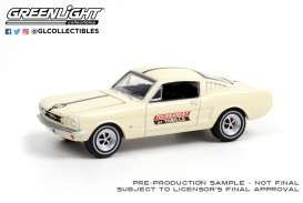 Ford  - Mustang 1965 white/black - 1:64 - GreenLight - 30265 - gl30265 | Toms Modelautos