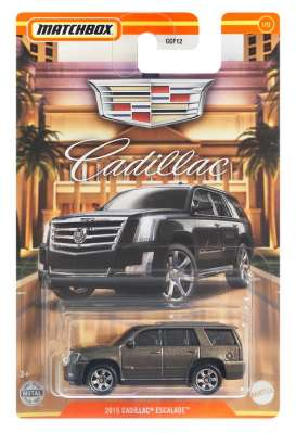 Cadillac  - Escalade 2015 brown - 1:64 - Matchbox - GWH04 - MBGWH04 | Toms Modelautos