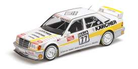 Mercedes Benz  - 190E 1990 white/yellow - 1:18 - Minichamps - 155903677 - mc155903677 | Toms Modelautos