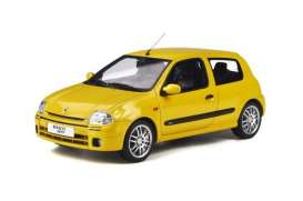 Renault  - Clio 1999 yellow - 1:18 - OttOmobile Miniatures - ot878 - otto878 | Toms Modelautos