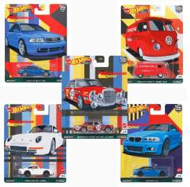 Assortment/ Mix  - German Auto various - 1:64 - Hotwheels - FPY86-978C - hwmvFPY86-978C | Toms Modelautos