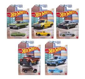 Assortment/ Mix  - Hot Pick-ups various - 1:64 - Hotwheels - GDG44 - hwmvGDG44-956Q | Toms Modelautos