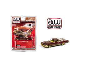 Cadillac  - Coupe Deville 1976 brown-red - 1:64 - Auto World - CP7661 - AWCP7661 | Toms Modelautos