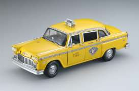 Checker  - 1981 yellow - 1:18 - SunStar - 2512 - sun2512 | Toms Modelautos