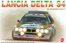Lancia  - S4 1986 white/green/orange - 1:24 - NuNu Hobby - nunu24005 - nunu24005 | Toms Modelautos