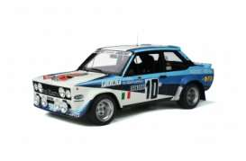 Fiat  - 131 Abarth white/blue - 1:12 - OttOmobile Miniatures - G051 - ottoG051 | Toms Modelautos