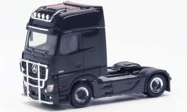 Mercedes Benz  - Actros black - 1:87 - Herpa - H311533-002 - herpa311533-002 | Toms Modelautos