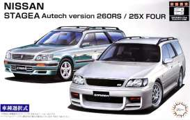 Nissan  - Stagea Autech Version 260RS  - 1:24 - Fujimi - 046136 - fuji046136 | Toms Modelautos
