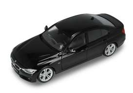 BMW  - 335i 2014 black - 1:24 - Welly - 24039 - welly24039bk | Toms Modelautos