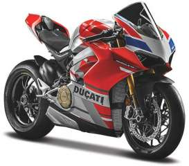 Ducati  - red/white/grey - 1:18 - Maisto - 19132 - mai19132 | Toms Modelautos