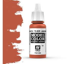 Paint Accessoires - Amarantha Red - Vallejo - val70829 - val70829 | Toms Modelautos