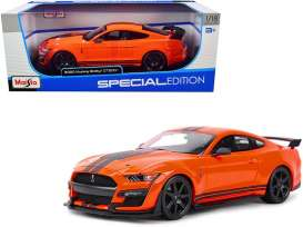 Ford  - Shelby orange/black - 1:18 - Maisto - 31388O - mai31388o | Toms Modelautos