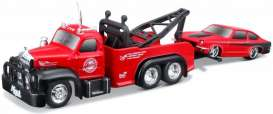 Mack Chevrolet - 1953 red/black - 1:64 - Maisto - 15055-03 - mai15055-03 | Toms Modelautos