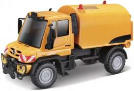 Mercedes Benz Unimog - orange/black - 1:64 - Maisto - 21238-19146 - mai21238-19146 | Toms Modelautos