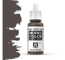 Paint Accessoires - Leather Brown - Vallejo - val70871 - val70871 | Toms Modelautos