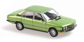 BMW  - 520 1972 green - 1:43 - Maxichamps - 940023004 - mc940023004 | Toms Modelautos