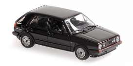 Volkswagen  - 1986 black - 1:43 - Maxichamps - 940054124 - mc940054124 | Toms Modelautos