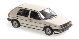 Volkswagen  - 1986 white - 1:43 - Maxichamps - 940054122 - mc940054122 | Toms Modelautos