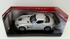 Mercedes Benz  - 2012 silver - 1:24 - Motor Max - 73356s - mmax73356s | Toms Modelautos