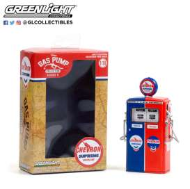 Accessoires diorama - 1954 red/blue - 1:18 - GreenLight - 14090 - gl14090C | Toms Modelautos