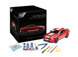 Ford Shelby - Mustang GT500  - 1:25 - Revell - Germany - 01031 - revell01031 | Toms Modelautos
