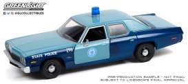 Dodge  - Monaco 2008 blue - 1:24 - GreenLight - 85532 - gl85532 | Toms Modelautos