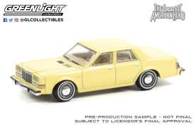 Dodge  - Diplomat 1981 white - 1:64 - GreenLight - 44920A - gl44920A | Toms Modelautos