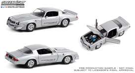 Chevrolet  - Z28 Yenko Turbo Z 1981 turbo silver - 1:18 - GreenLight - 13594 - gl13594 | Toms Modelautos