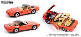 Chevrolet  - Corvette C4 Limited Edition 1984 hugger orange - 1:18 - GreenLight - 13595 - gl13595 | Toms Modelautos