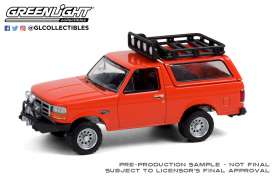Ford  - Bronco Sport 1995 orange - 1:64 - GreenLight - 35190D - gl35190D | Toms Modelautos