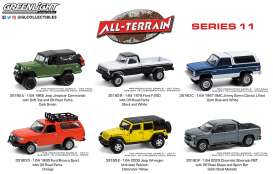 Assortment/ Mix  - All Terrain Series 11 various - 1:64 - GreenLight - 35190 - gl35190 | Toms Modelautos