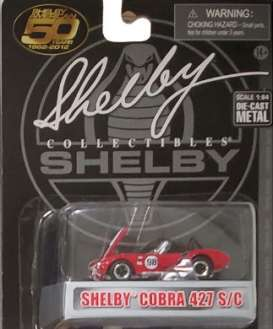 Shelby  - Cobra 427S/C 1965 red - 1:64 - Shelby Collectibles - shelbyCobra427 | Toms Modelautos